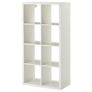 Image Is Loading Ikea Kallax 8 Cube Storage Bookcase Rectangle Shelving