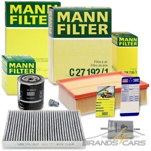 MANN-FILTER INSPEKTIONSPAKET B FÜR AUDI A4 8E B6 B7 2.4 3.0 BJ 00-05