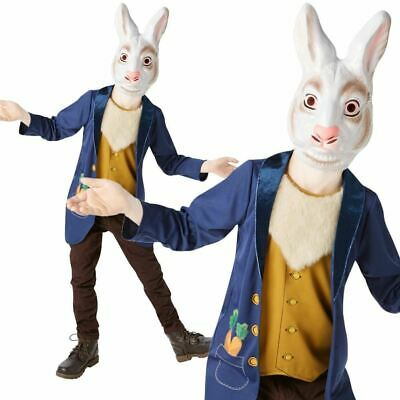 Boys Mr White Rabbit Costume Child Fancy Dress Alice In Wonderland Book Week