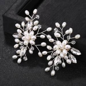 2x-Silver-Pearl-Crystal-Shoe-Clip-Decor-Bridal-Shoes-Rhinestone-Clips-Buckle-DIY