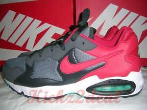 1440c19f9 NEW NIKE AIR MAX TRIAX 94 Running Shoe Trainer sz 11 Cool Grey Red ...