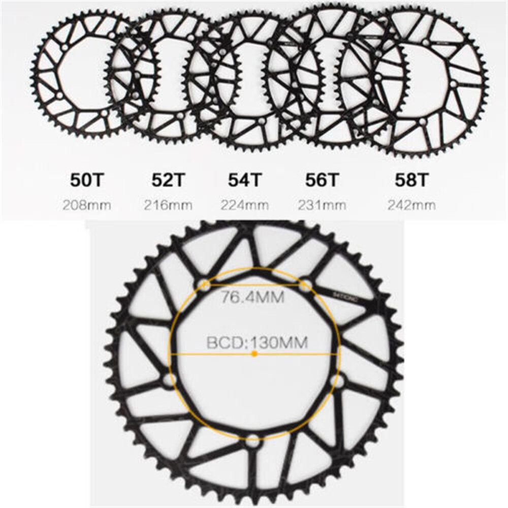 Litepro Hollow 130BCD Bike Crankset 170mm Cranks Crank Set Chainring 50-58t