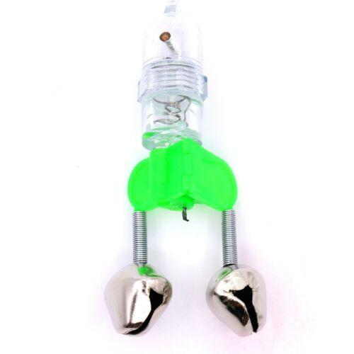 LED Bissanzeiger  Angelglocke Angeln Glocke Angelglöckchen Nachtangeln Licht