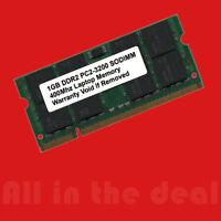 1gb Ddr2 Pc2 3200 Sodimm 400 Mhz Pc2-3200 200 Pins Laptop Memory