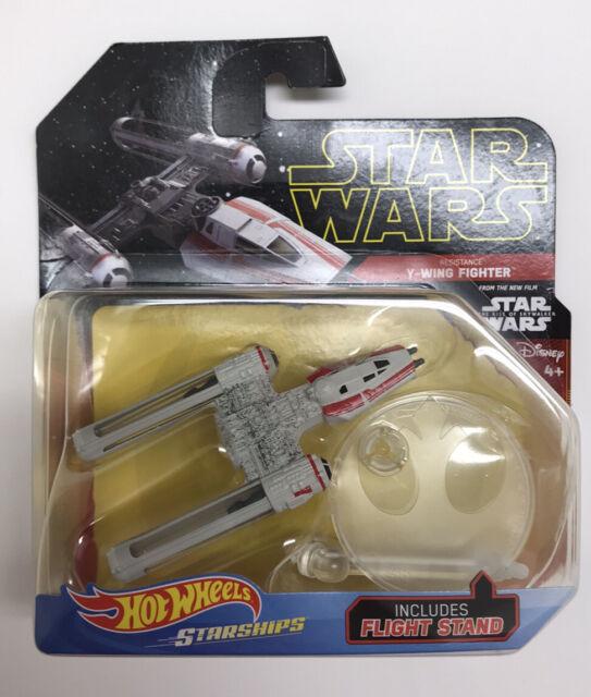 2019 Star Wars Hot Wheels Starships Resistance Y Wing Fighter Rise Of Skywalker For Sale Online Ebay