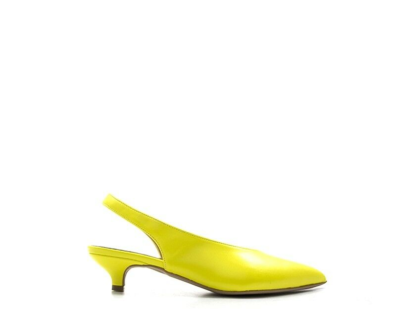 shoes PERLAMARINA Femme yellow  74502LIZ-GI