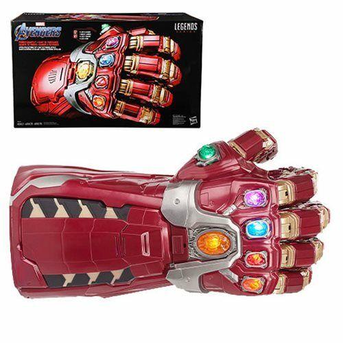 Marvel Legends Endgame IRON MAN ELECTRONIC INFINITY NANO POWER GAUNTLET In Stock