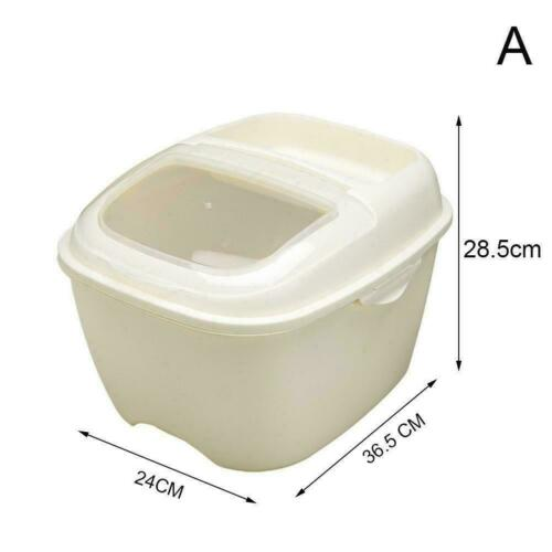 10KG Plastic Kitchen Rice Storage Bucket Cereal Dry Keepers Container Food NEW
