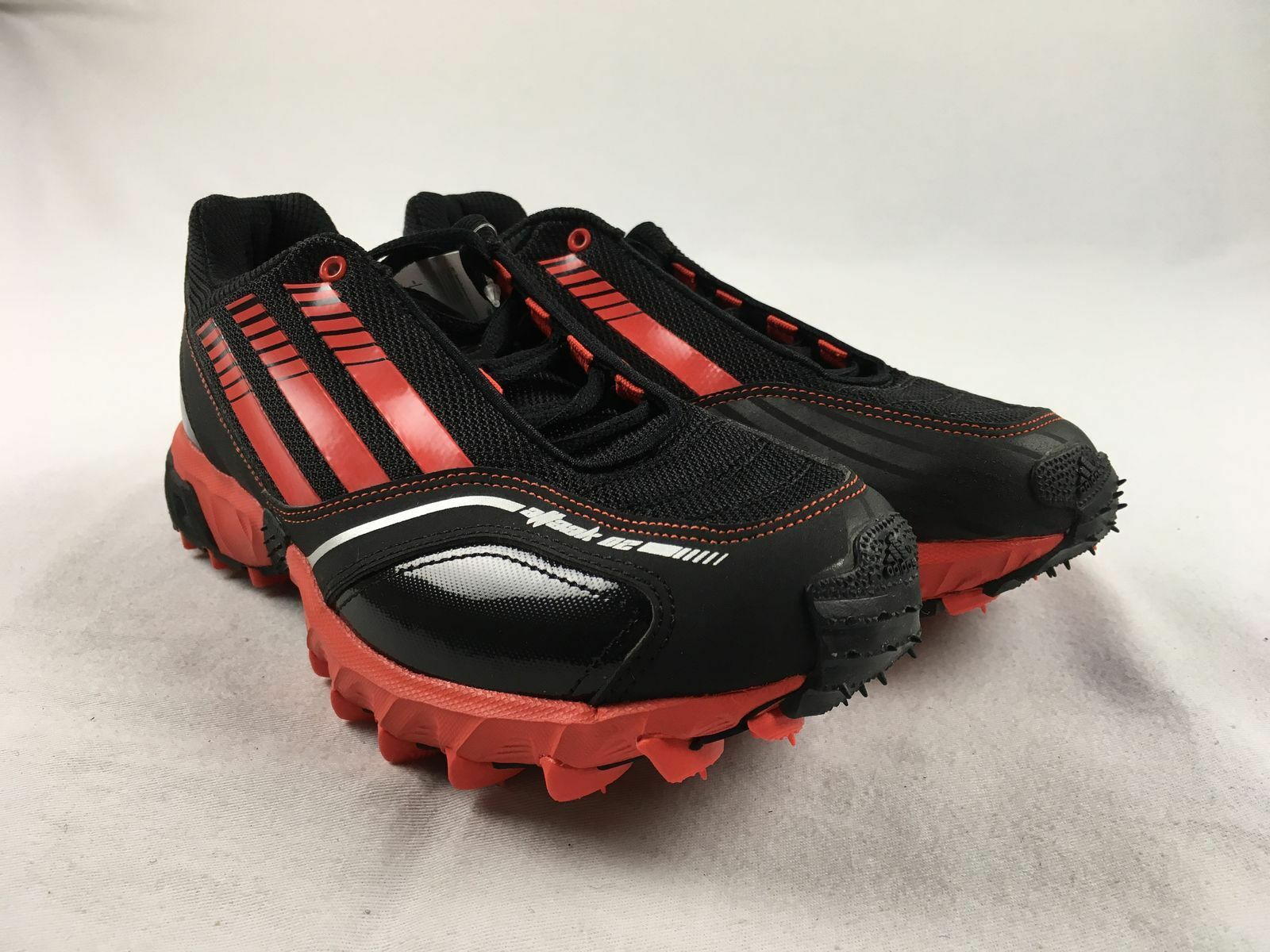 NEW adidas Hockey Attack 2 - Black Red Cleats (Men's 6.5)