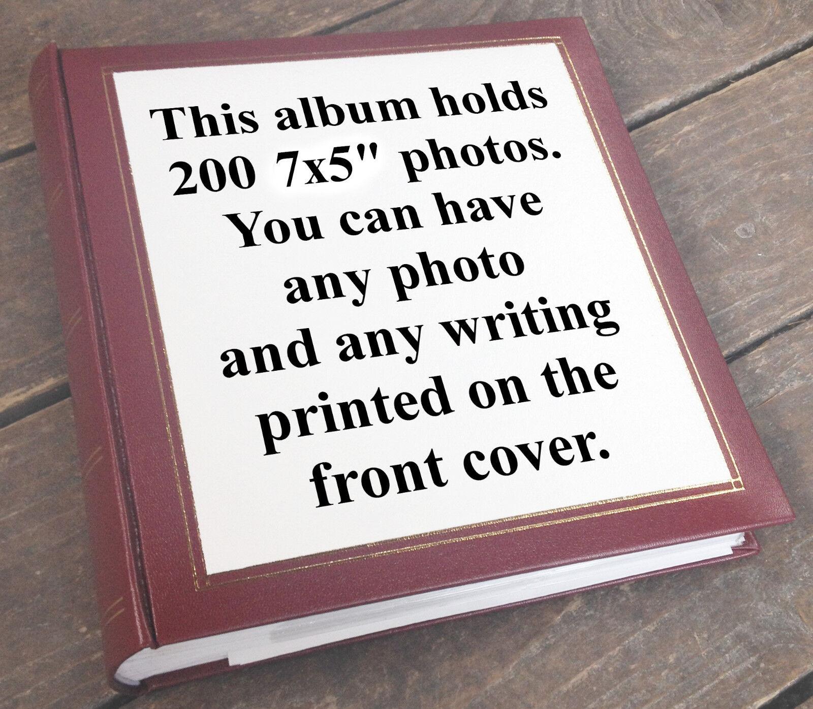 ALBUM foto grande 7x5 libro della memoria, 200 7x5 grande  foto Grandad Regalo Di Compleanno ccbd5e