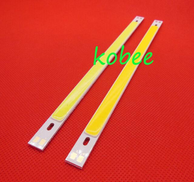 10W COB LED Panel Strip Lights 200x10MM 12V-24V DIY Warm/Cool White