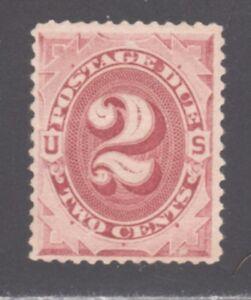 STATI-UNITI-Francobollo-J16-2c-Spedizione-Francobollo-1884-Non-Usato
