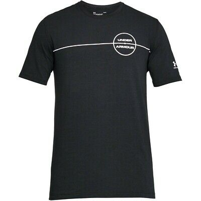 Under Armour Ua Men's Centre Circle T-shirt - Small - Black - New Blut NäHren Und Geist Einstellen