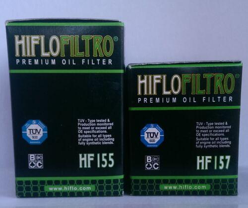 HF155 /& HF157 08 to 09 KTM 690 Supermoto R 1ST /& 2ND HifloFiltro Oil Filters
