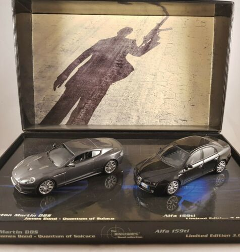 Minichamps 1:43 Aston Martin DBS Alfa 159ti Bond Quantum of Solace 402121300