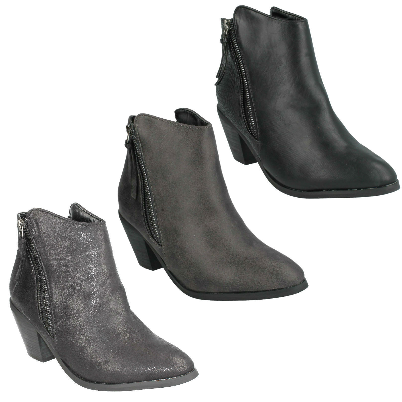 Mujer Spot On On On - Botines Casuales 72365a