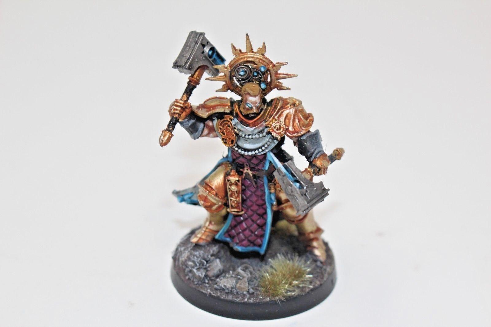 Warhammer Stormcast Lord Ordinator Vorrus Stormstrike Well Painted