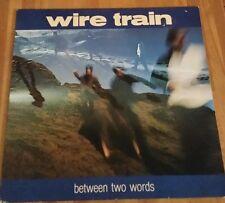 Wire Train Between Two Words Vinyl Lp Dutch Copy