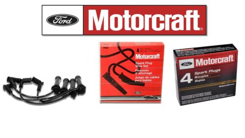 Motorcraft WR6059 Wire Set /& 4 Motorcraft Plugs SP541A Ranger 2.3 DOHC 2010-2011