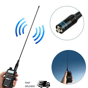 10W-2-15dB-NA-771-Radio-Antenna-Dual-Band-SMA-F-Replace-For-Baofeng-UV-82-UV-5R