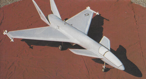 Turbine EDF Canard Jet Plans,Template,Instruction 39ws Hi-Tech 2001 Ducted Fan