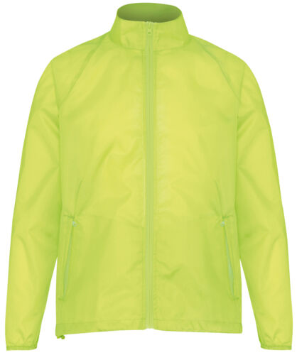 2786 Lightweight Fold Away Polyester Jacket Unisex Water//Wind Resistant Events