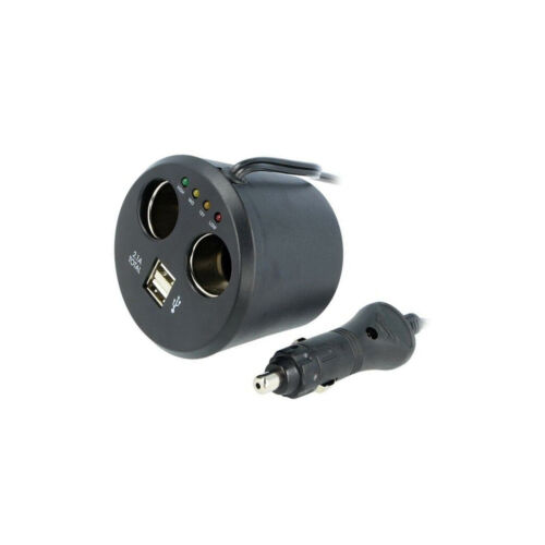 7-12VDC SCI A13-75A155B1-A3 Verteiler für KFZ-Zigarettenanzünder 10A Sp.Strom