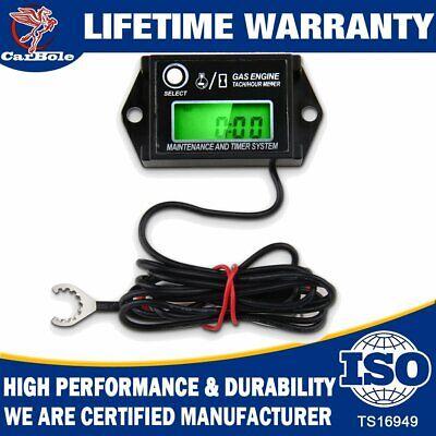 Tiny Tach Digital Hour Meter//Tachometer Adjustable Resettable Job Timer Briggs