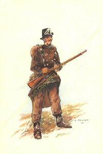 Illustration J.Demart Militaria Belgien Carabinieri Tenue De Campagne 1914