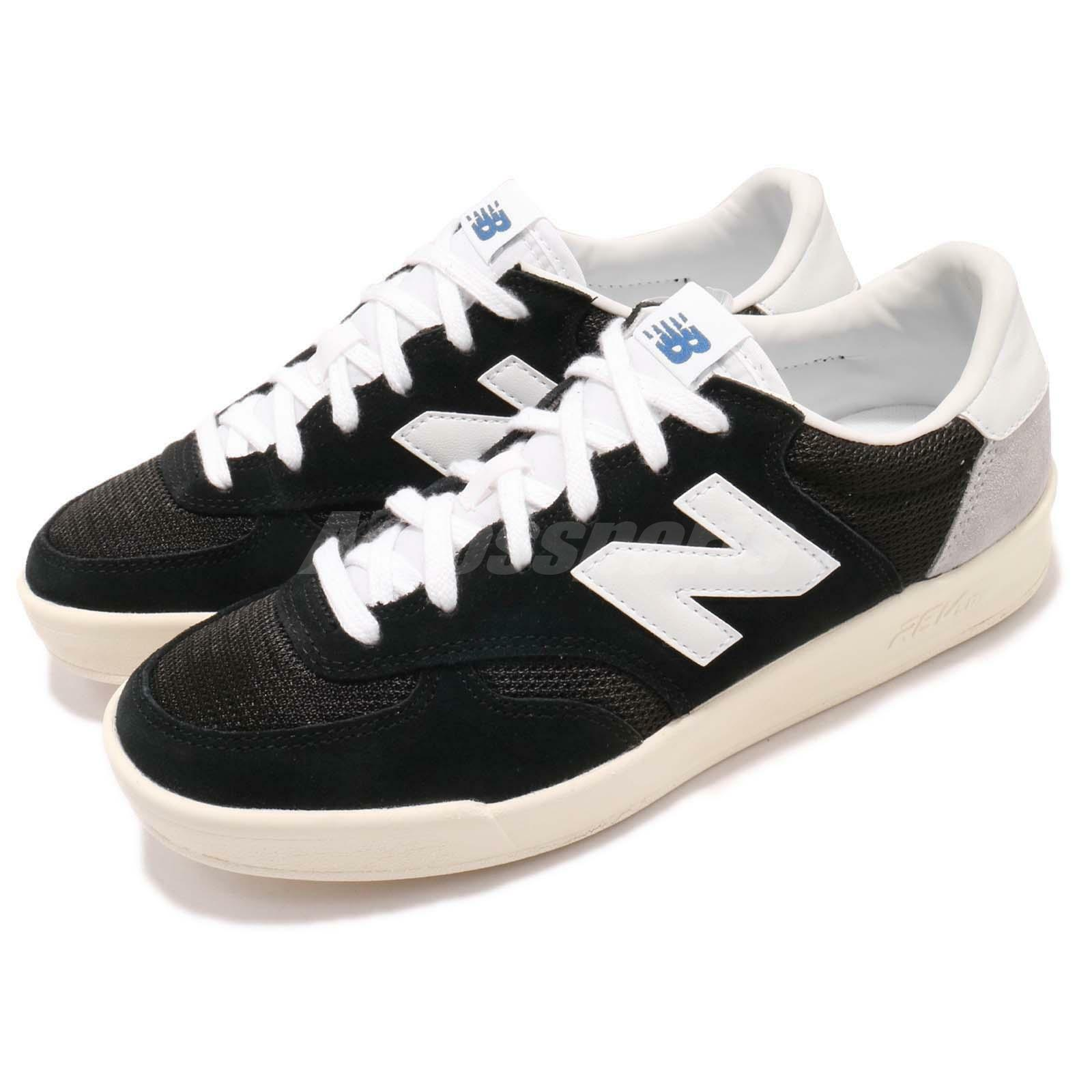 New Balance CRT300FO D Noir Beige Men Court Classic Chaussures Baskets CRT300FOD