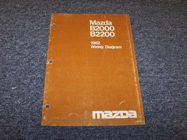 1982 Mazda B2000 B2200 Pickup Truck Original Electrical ...