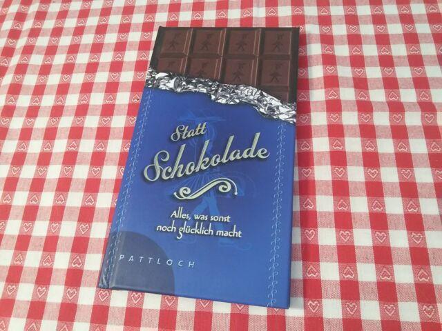 Statt Schokolade Alles, was sonst noch glücklich macht Vera Lange Jochen GrünNEU