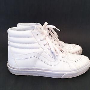 Vans-SK8-Hi-LX-VLT-Vault-Premium-Leather-True-White-US-6-Mens-US-7-5-Womens-38