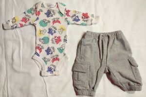 Carter-039-s-Baby-Boys-Two-Piece-Outfit-Size-0-3-Months