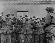B&W WW2 Photo WWII Captured Hitler Youth M3 Greasegun World War Two Germany
