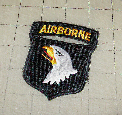 USA 01st AIRBORNE DIVISION SSI SCREAMING EAGLES AIR FORCE Hook PATCH