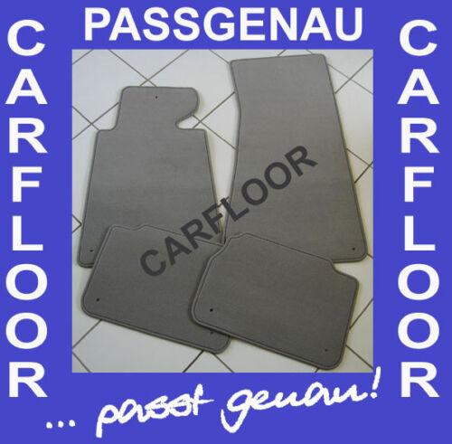 Fußmatten passend für Porsche 944 S2 Cabrio Bj 82-91 Velours Deluxe hellgrau