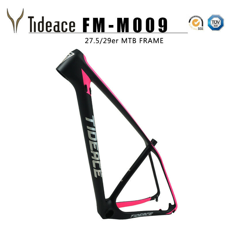 27.5 29er Full Carbon OEM Mountain Bicycle Frame T800 Carbon MTB Cycle Bike Fram