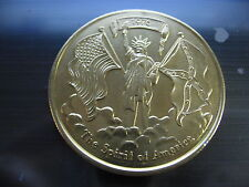 flags rebel confederate flag american 1976 Mardi gras Doubloon Coin new orleans