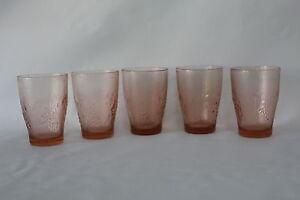 Pink-Glass-5-Kig-Indonesia-Pressed-Glass-Pink-Harvest-Grape-drinking-glasses
