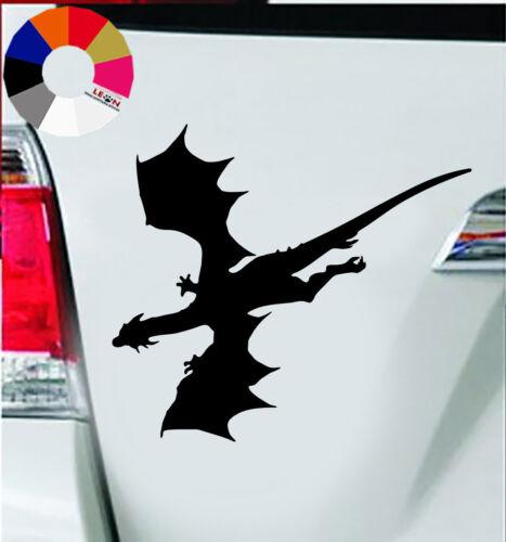Wand Tattoo ca Auto Aufkleber Auto Tattoo Dragon Fly 7.5x11 cm  # 6