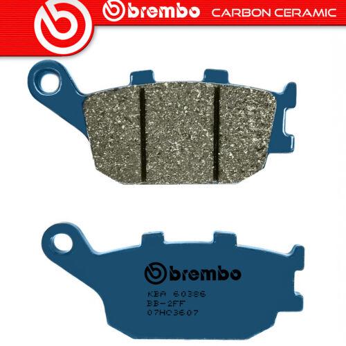 Beläge Bremse Brembo Kohlenstoff Ceramic Hinten für Honda Fmx 650 2005/>2006