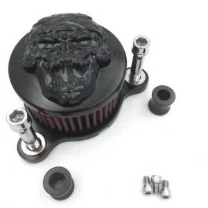 Skull-Air-Cleaner-Intake-Filter-Kit-For-Harley-Sportster-XL883-XL1200-2004-2014