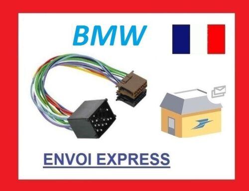 Radio Adapter BMW E30 E36 E46 E34 E39 E32 E38 E31 X5 ISO Cable Plug Car