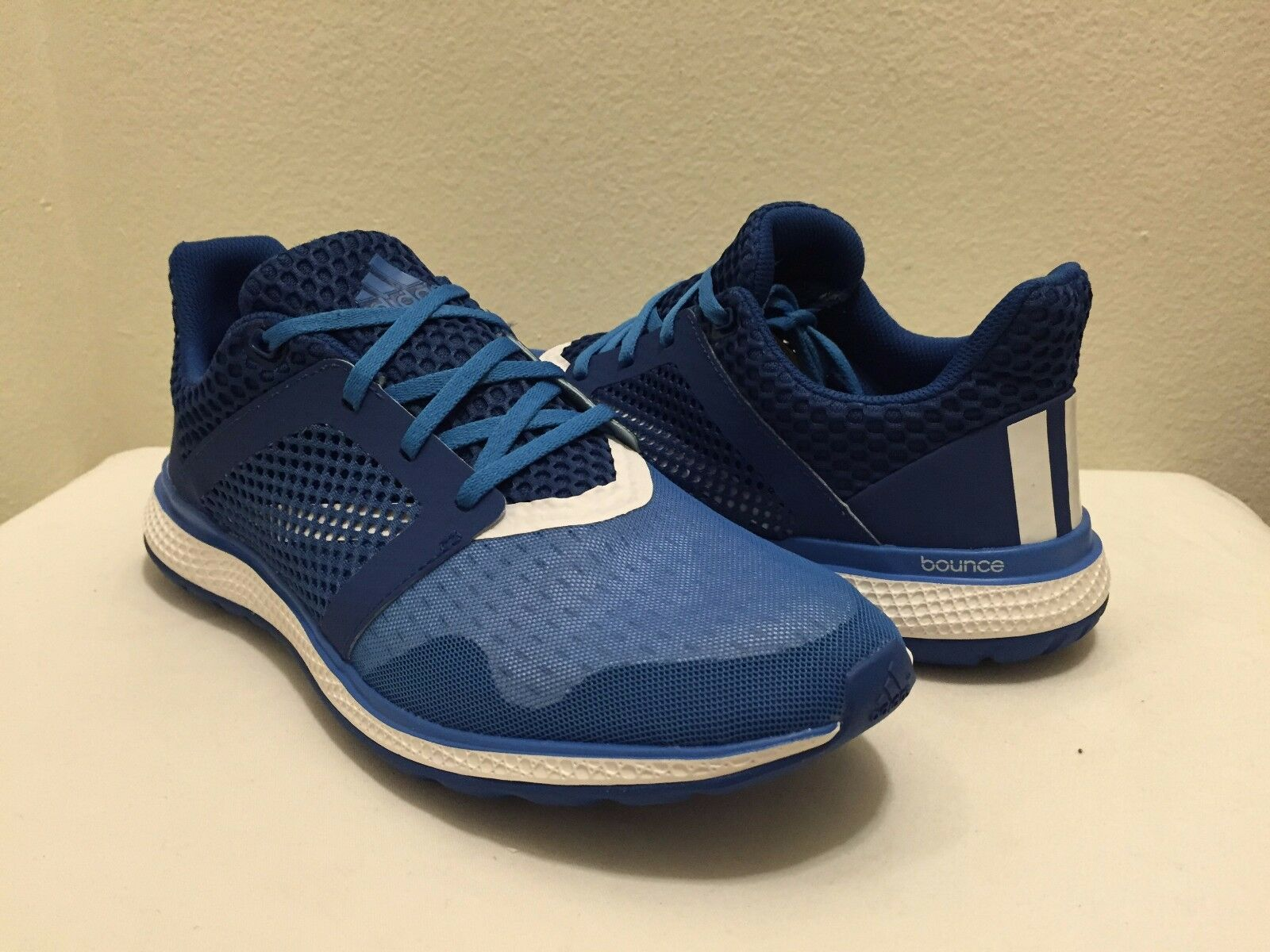 Adidas Energy Bounce 2 M  Men´s Running Shoes Sneakers Blue/ White  AQ3153