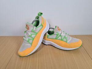 Nike-Air-Huarache-Light-Homme-Baskets-Blanc-Atomique-Mango-UK-7-5-EU-42