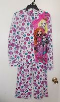 Girls Size 14/16 Mattel Brand Ever After High 2-piece Flannel Pajama Set