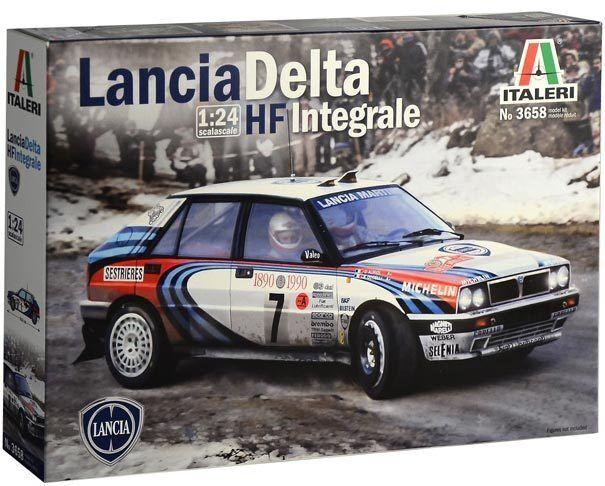 METAL RACE Scala 1:24 Bburago 28000 Lancia Delta HF Integrale EVO 2