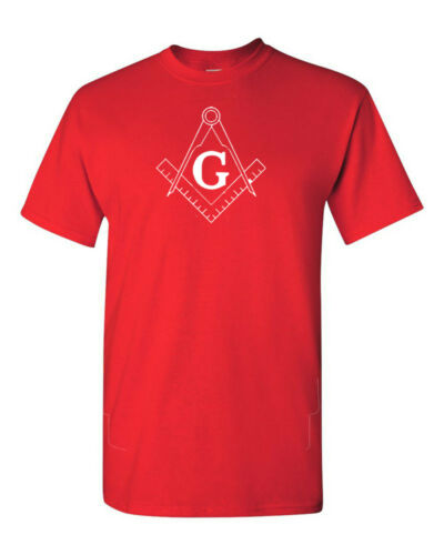 Freemason Square and Compass T-Shirt Shirt SIZES S-5XL