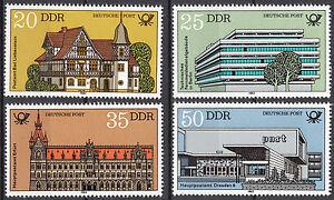 Rda 1982 Mi. Nº 2673-2676 Cachet ** Mnh-afficher Le Titre D'origine